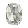 Swarovski Pendant 6685 Graphic 28mm Silvershade Crystal